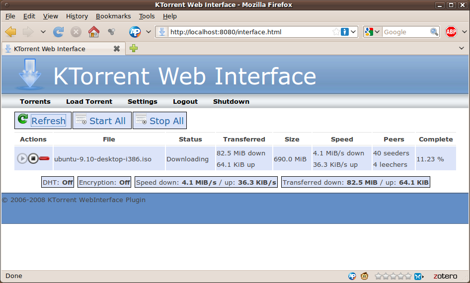 torrent program for linux
